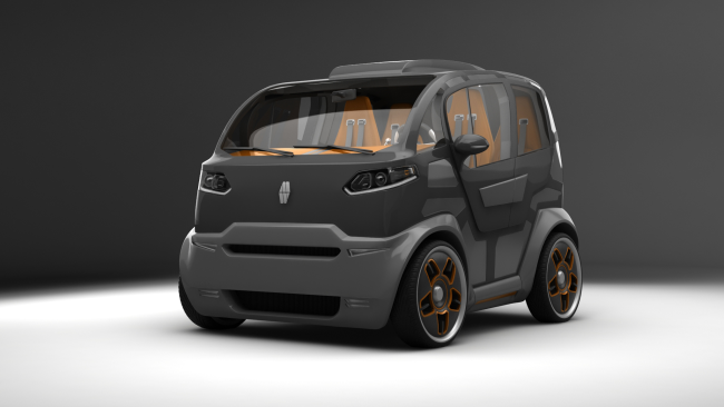 Concept car Mirrow Provocator