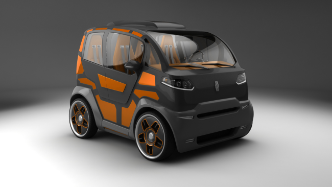 City car Mirrow Provocator exterior