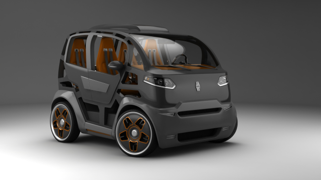 Basic version concept car Mirrow Provocator